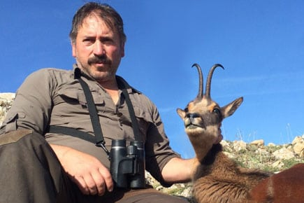cantabrian chamois trophy hunter