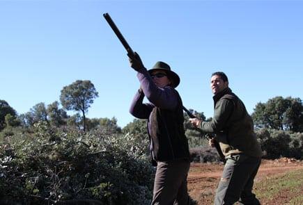 driven partridge shooting