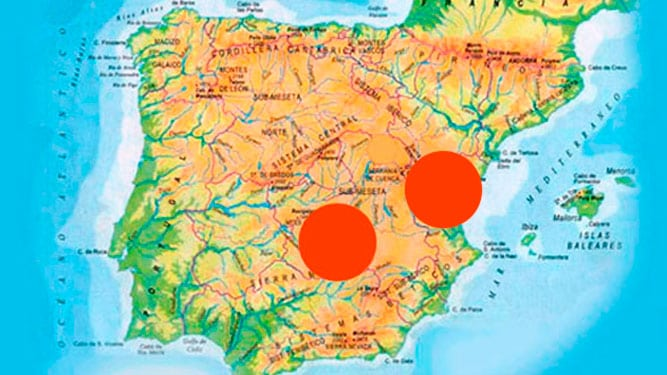 Sheep Hunting Map Spain