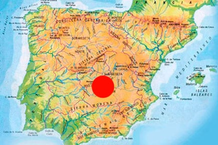 red stag hunting areas in spain