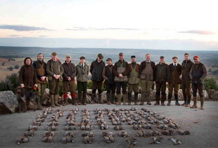 Driven Bird Shooting Parade